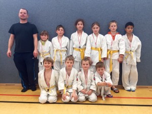 Ilmenauer Judokids sehr erfolgreich in Erfurt